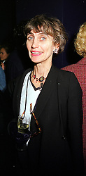 LADY HENRIETTA ROUS at a party in London on 1st February 2000.OAN 28