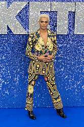 May 20, 2019 - London, England, United Kingdom - Leyton Williams arrives for the UK film premiere of 'Rocketman' at Odeon Luxe, Leicester Square on 20 May, 2019 in London, England. (Credit Image: © Wiktor Szymanowicz/NurPhoto via ZUMA Press)