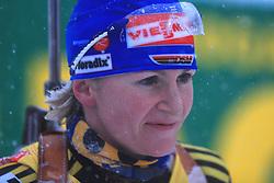 Martina Beck (GER) at Women 15 km Individual at E.ON Ruhrgas IBU World Cup Biathlon in Hochfilzen (replacement Pokljuka), on December 18, 2008, in Hochfilzen, Austria. (Photo by Vid Ponikvar / Sportida)