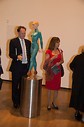 JAMES DALLAS; ANNABEL DALLAS, Gala Opening of RA Now. Royal Academy of Arts,  8 October 2012.