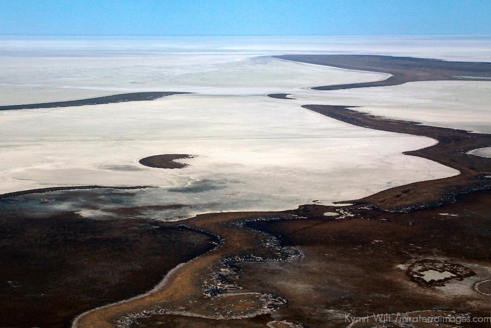 Africa, Namibia, Etosha. The great Etosha Pan.