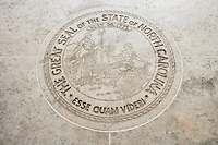 Seal of North Carolina in Fort Bonifacio; Manila; Philippines