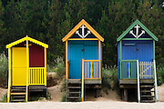 Beach huts in Wells-Next-The-Sea, Norfolk, United Kingdom