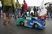 October 1- 3, 2015: Road Atlanta, Petit Le Mans 2015 - fallen tire fan