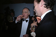Michael Howard, The Leader's Dinner ( Michael Howard's ) Banqueting House. Whitehall. London.  November 2005. ONE TIME USE ONLY - DO NOT ARCHIVE  © Copyright Photograph by Dafydd Jones 66 Stockwell Park Rd. London SW9 0DA Tel 020 7733 0108 www.dafjones.com