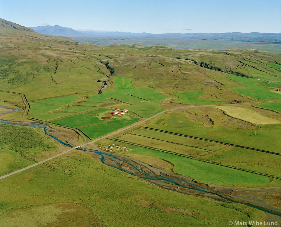 Dalsmynni séð til austurs, Bláskógabyggð áður Biskupstungnahreppur / Dalsmynni viewing east, Blaskogabyggd former Biskupstungnahreppur.