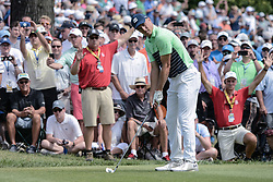 August 9, 2018 - Town And Country, Missouri, U.S - JORDAN SPIETH from Dallas Texas, USA gets ready to tee off on hole number 6 during round one of the 100th PGA Championship on Thursday, August 8, 2018, held at Bellerive Country Club in Town and Country, MO (Photo credit Richard Ulreich / ZUMA Press) (Credit Image: © Richard Ulreich via ZUMA Wire)