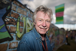 © Licensed to London News Pictures . 09/08/2015 . Siddington , UK . DAVE EDMUNDS back stage . The Rewind Festival of 1980s music , fashion and culture at Capesthorne Hall in Macclesfield . Photo credit: Joel Goodman/LNP
