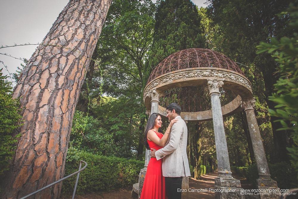 Incredible Photoshoot At Villa Cimbrone Wedding