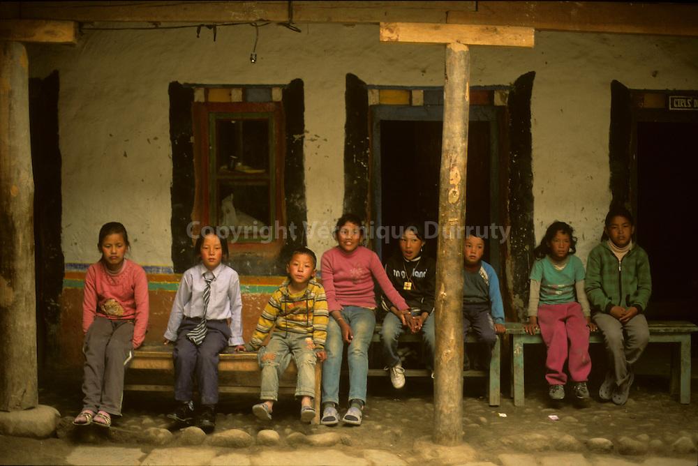 Lo Mantang, capital of MUSTANG. Upper Mustang, Nepal