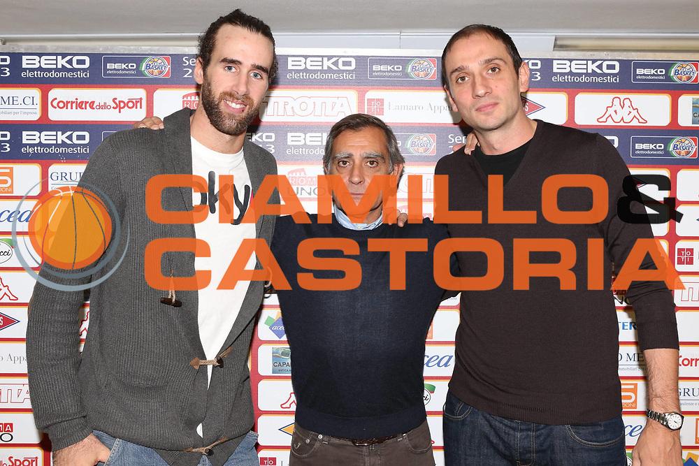 DESCRIZIONE : Roma Lega A conferenza stampa Acea Roma<br /> GIOCATORE : Claudio Toti Luigi Datome Alessandro Tonolli <br /> SQUADRA : Acea Roma<br /> CATEGORIA : curiosita ritratto<br /> EVENTO : Lega A 2012 2013<br /> GARA : conferenza stampa<br /> DATA : 27/10/2012<br /> SPORT : Pallacanestro<br /> AUTORE : Agenzia Ciamillo-Castoria/M.Simoni<br /> Galleria : Lega A 2012-2013<br /> Fotonotizia :  Roma Lega A conferenza stampa Acea Roma<br /> Predefinita :