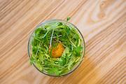 Aquavit the Restaurant. The dish is Celeriac.