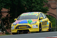 #14 Alex Martin GBR Dextra Racing with Team Parker Ford Focus  during first practice for the BTCC Oulton Park 4th-5th June 2016 at Oulton Park, Little Budworth, Cheshire, United Kingdom. June 04 2016. World Copyright Peter Taylor/PSP.