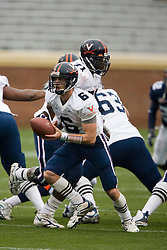 Virginia Cavaliers QB Marc Verica (6) in action during the UVA spring game.  The University of Virginia Football Team played their Spring game at Scott Stadium in Charlottesville, VA on April 14, 2007.