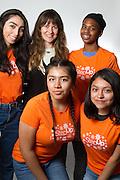 Mentor Katherine, Mentees Kaylee, Amber, Natalie, Reanna
