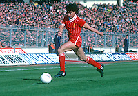 Craig Johnston, Liverpool and England, taken during 1983 Milk Cup Final against Manchester United at Wembley, London, UK. Liverpool won 2-1. 19830326CJ4..Copyright Image from Victor Patterson, 54 Dorchester Park, Belfast, United Kingdom, UK...For my Terms and Conditions of Use go to http://www.victorpatterson.com/Victor_Patterson/Terms_%26_Conditions.html