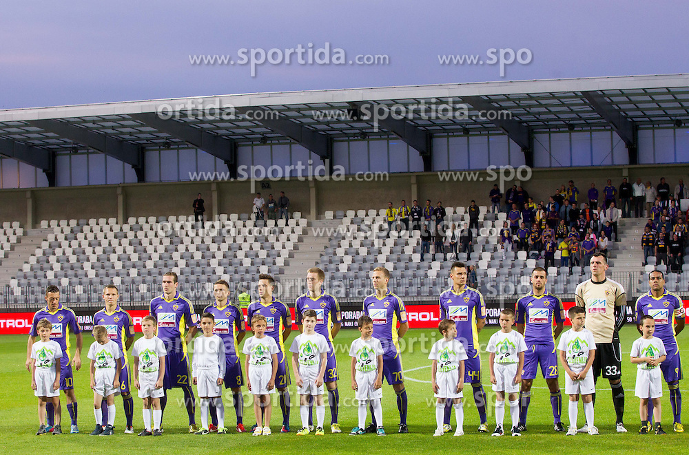 Players of Maribor during football match between NK Maribor and NK Celje in final of Slovenian Cup 2013 on May 29, 2013 in Stadium Bonifika, Koper, Slovenia. Maribor defeated Celje 1-0 and became Slovenian Cup Champion 2013. (Photo By Vid Ponikvar / Sportida)