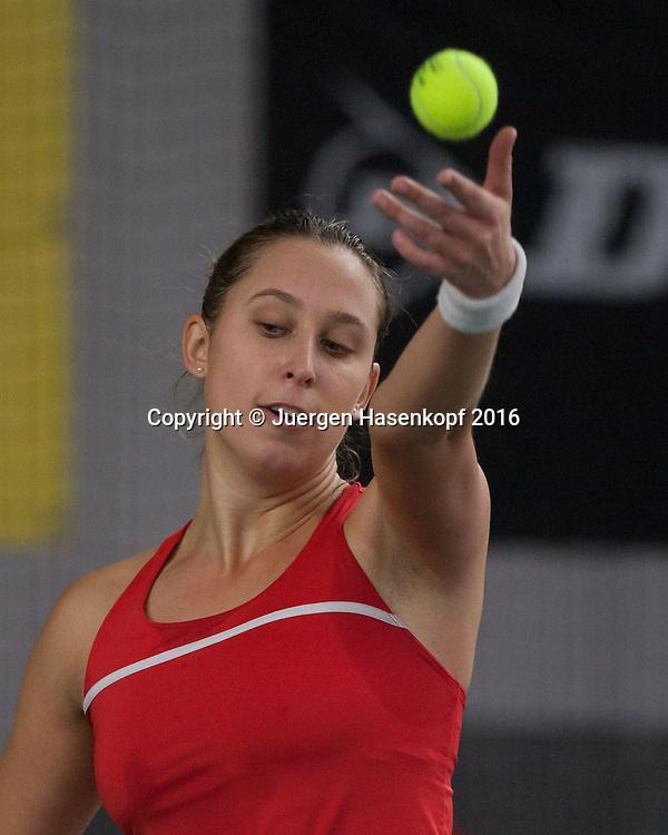 CAROLINE WERNER, 45. Deutsche Meisterschaften 2016 <br /> <br /> Tennis - Deutsche Meisterschaften 2016 - Deutsche Meisterschaften -   - Biberach an der Riss - Baden-Wuerttemberg - Germany - 17 December 2016. <br /> &copy; Juergen Hasenkopf