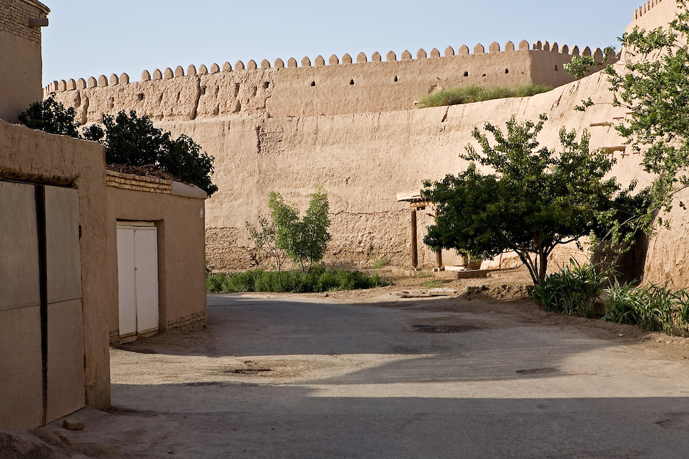 Side street in old city, Khiva