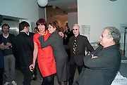 JANET STREET-PORTER; TRACEY EMIN,  ANTHONY FAWCETT; JEREMY THOMAS, Art Plus Music Party 2010. Whitechapel art Gallery.  To raise money for the gallery';s education and community programme. 22 April 2010.