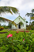 Star of the Sea Catholic Church, Kalapana, Big Island of Hawaii