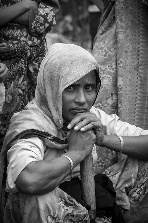 Rohingya woman in Kutupalong refugee camp, Bangladesh (October 29, 2017)