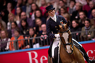 Nikki Crisp (GBR) & Pasoa - Grand Prix Freestyle - Reem Acra FEI World Cup Dressage Qualifier - The London International Horse Show Olympia - Olympia, London, United Kingdom - 18 December 2012