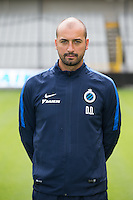 Club's Dieter Deprez poses for the photographer during the 2015-2016 season photo shoot of Belgian first league soccer team Club Brugge, Friday 17 July 2015 in Brugge