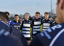 Bristol players reflect on the game - Mandatory by-line: Paul Knight/JMP - 07/01/2017 - RUGBY - SGS Wise Campus - Bristol, England - Bristol Academy U18 v Exeter Chiefs U18 - Premiership U18 League