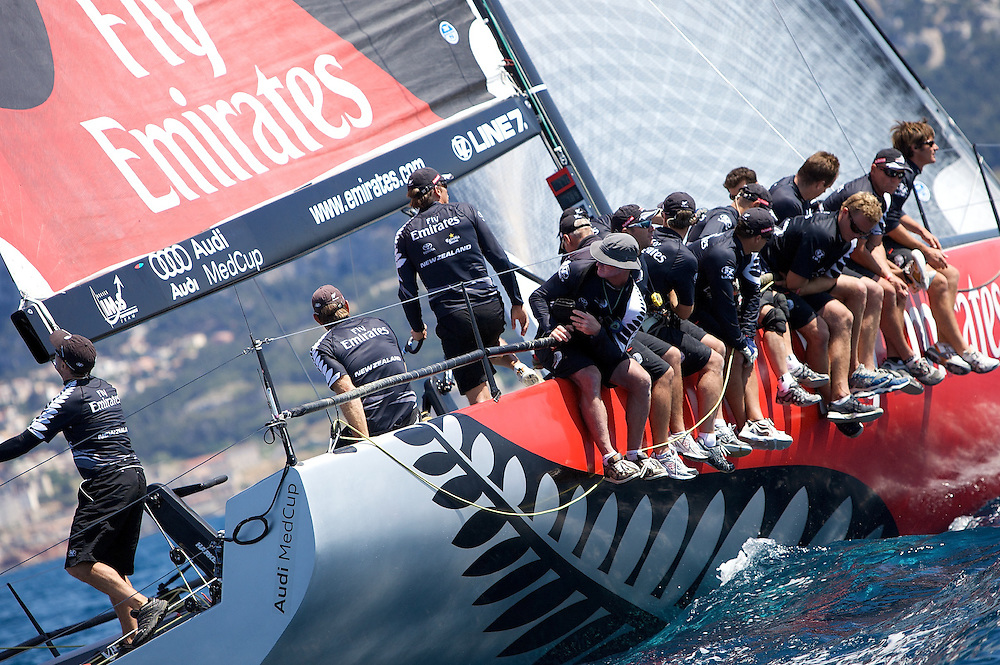 FRANCE, Marseille, 10th June 2009, AUDI MedCup, Marseille Trophy, Race 2,Emirates Team New Zealand
