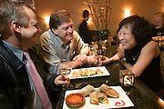 Annalien Vietnamese Restaurant in downtown Napa, California. Napa Valley. MODEL RELEASED..