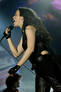 Alanis Morissette live in the Ahoy, Rotterdam , The Netherlands for her Diamond Wink Tour 2005