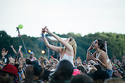 Crowd shots taken during Kendrick Lamar's set at Lollapalooza 2013 on August 3rd, 2013.