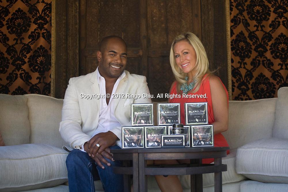 Shannon and Glenn Dellimore co-CEOs of GlamGlow Inc.  (Photo by Ringo Chiu/PHOTOFORMULA.com).