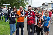 July 30th 2017, Dundee, Scotland; Betfred Cup football, group stages, Dundee versus Dundee United; Dundee and Dundee United fans but also friends<br /> <br />  - Picture by David Young - www.davidyounghoto@gmail.com - email: davidyoungphoto@gmail.com