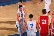 DESCRIZIONE : Bormio Raduno Collegiale Nazionale Maschile Amichevole Italia Polonia <br /> GIOCATORE : Luca Vitali <br /> SQUADRA : Nazionale Italia Uomini Italy <br /> EVENTO : Raduno Collegiale Nazionale Maschile <br /> GARA : Italia Polonia Italy Polonia <br /> DATA : 29/07/2008 <br /> CATEGORIA : Esultanza <br /> SPORT : Pallacanestro <br /> AUTORE : Agenzia Ciamillo-Castoria/S.Silvestri <br /> Galleria : Fip Nazionali 2008 <br /> Fotonotizia : Bormio Raduno Collegiale Nazionale Maschile Amichevole Italia Polonia <br /> Predefinita :