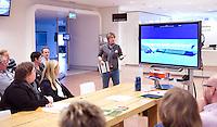 UTRECHT -  Boukje Smeets. Workshop 'Uitdagende Sport voor Jongens' . Hockeycongres bij de Rabobank in Utrecht. FOTO KOEN SUYK