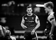 George North of Ospreys<br /> <br /> Photographer Simon King/Replay Images<br /> <br /> Guinness PRO14 Round 2 - Ospreys v Cheetahs - Saturday 8th September 2018 - Liberty Stadium - Swansea<br /> <br /> World Copyright © Replay Images . All rights reserved. info@replayimages.co.uk - http://replayimages.co.uk