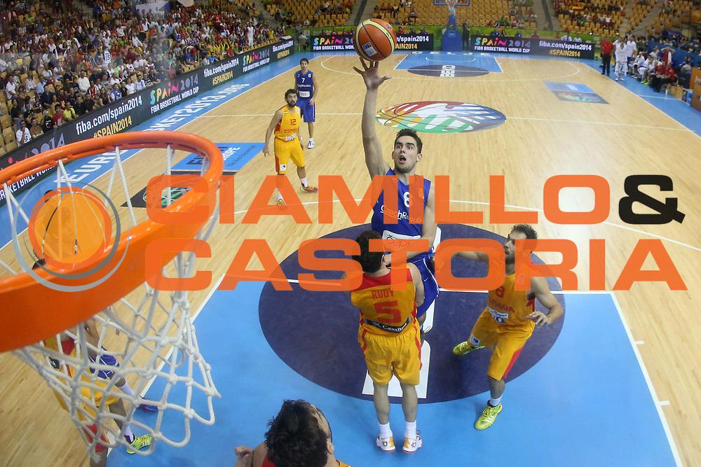 DESCRIZIONE : Celje Slovenia Eurobasket Men 2013 Preliminary Round Spagna Repubblica Ceca Spain Czech Republic<br /> GIOCATORE : Tomas Satoransky<br /> CATEGORIA : tiro shot special<br /> SQUADRA : Repubblica Ceca Czech Republic<br /> EVENTO : Eurobasket Men 2013<br /> GARA : Spagna Repubblica Ceca Spain Czech Republic<br /> DATA : 07/09/2013 <br /> SPORT : Pallacanestro <br /> AUTORE : Agenzia Ciamillo-Castoria/ElioCastoria<br /> Galleria : Eurobasket Men 2013<br /> Fotonotizia : Celje Slovenia Eurobasket Men 2013 Preliminary Round Spagna Repubblica Ceca Spain Czech Republic<br /> Predefinita :
