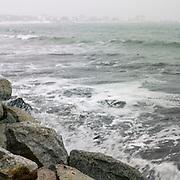 Waves Breaching The Wall, Biddeford Pool, Maine, 2008