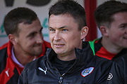 Paul Heckingbottom (Barnsley) during the Sky Bet League 1 match between Barnsley and Scunthorpe United at Oakwell, Barnsley, England on 25 March 2016. Photo by Mark P Doherty.