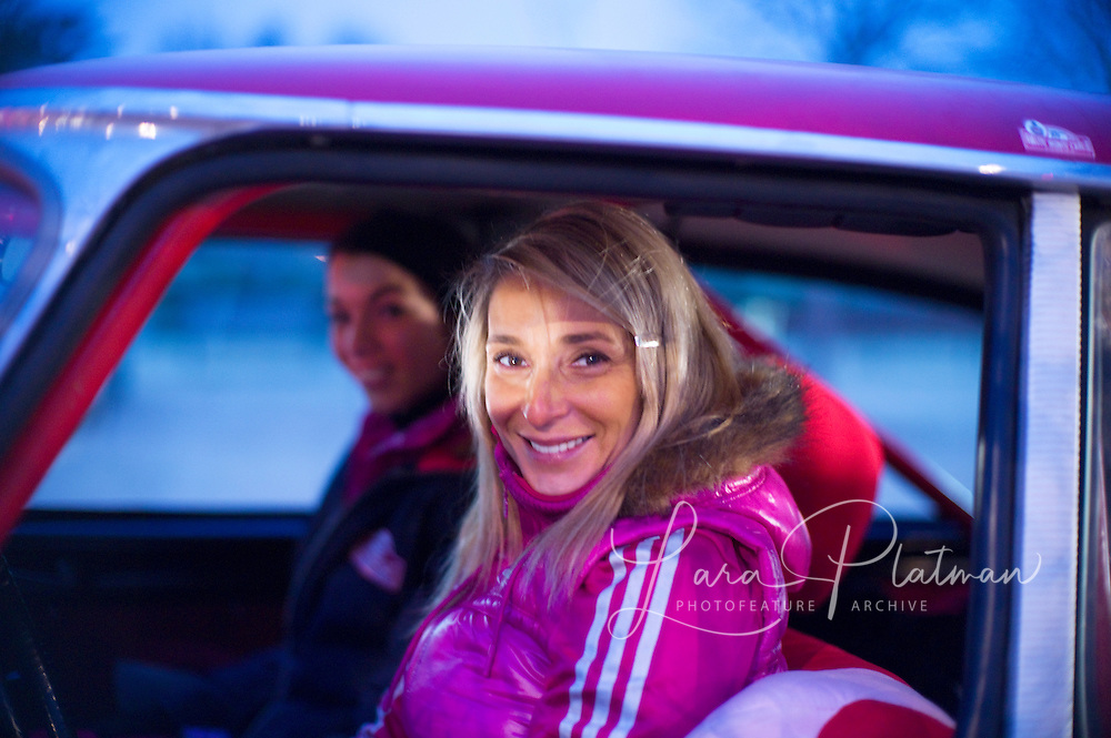 Girls team: they broke. dnf The 14th Rallye Monte Carlo Historique. Celebrating 100 years of the Rally. 1911-2011. Cars start from either Glasgow,Marakesh, Warsaw, Reims, Barcelona or Paris. Rallye Monte Carlo Historic,
