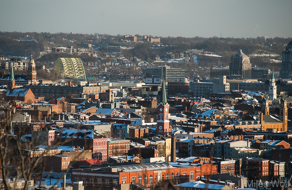 Rooftops in Over-the-Rhine