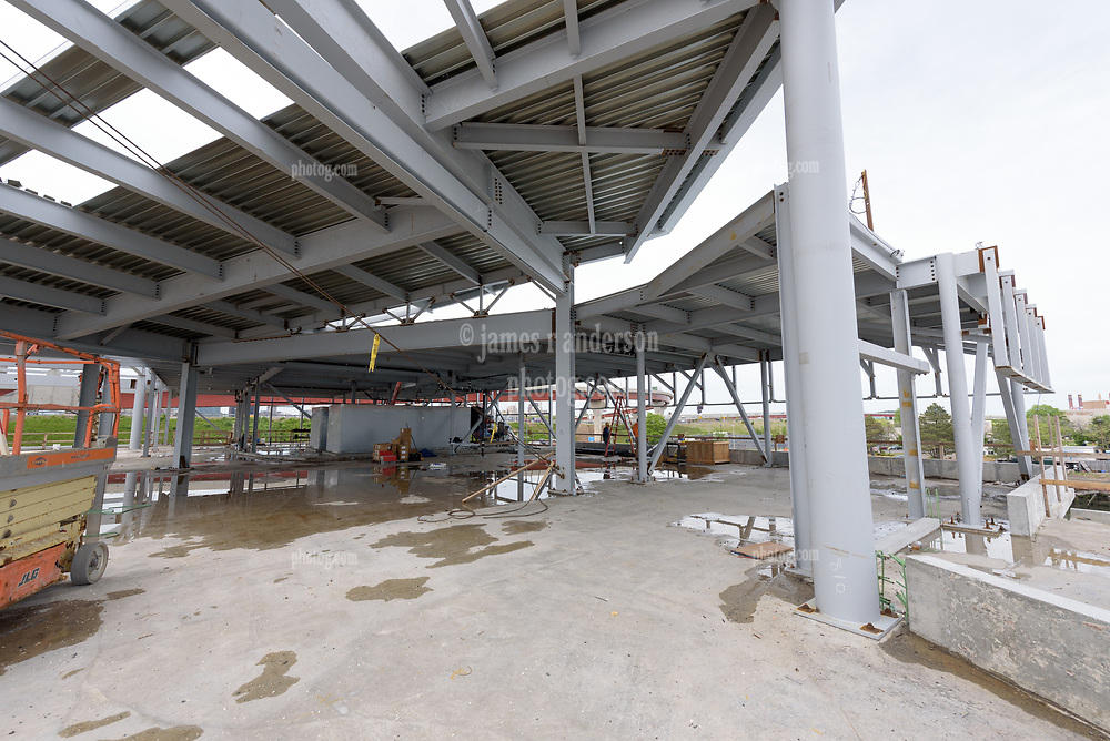 Boathouse at Canal Dock Phase II   State Project #92-570/92-674 Construction Progress Photo Documentation No. 11 on 23 May 2017. Image No. 24 Second Level East Elevation