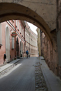Walking through Old Town/Senamiestas, Vilnius, Lithuania