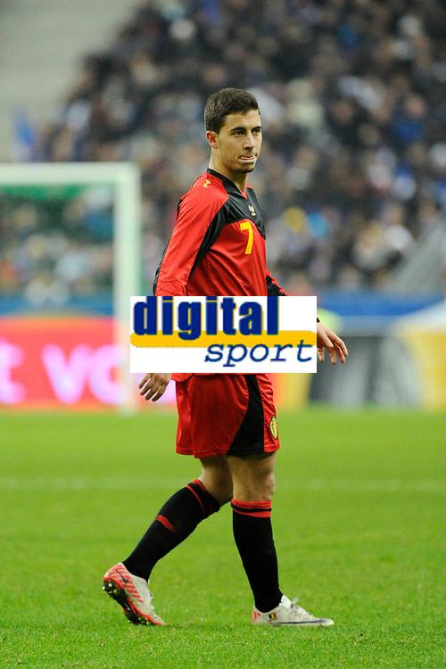 FOOTBALL - FRIENDLY GAME 2011 - FRANCE v BELGIUM - 15/11/2011 - PHOTO JEAN MARIE HERVIO / DPPI - EDEN HAZARD (BEL)