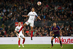 October 20, 2018 - Barcelona, Catalonia, Spain - Jesus Navas during the match between FC Barcelona and Sevilla CF, corresponding to the week 9 of the Liga Santander, played at the Camp Nou, on 20th October 2018, in Barcelona, Spain. (Credit Image: © Joan Valls/NurPhoto via ZUMA Press)