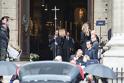 Guest attend Peter Lindbergh's funerals at Eglise Saint-Sulpice in Paris, France on September 24, 2019. Photo by Nasser Berzane/ABACAPRESS.COM