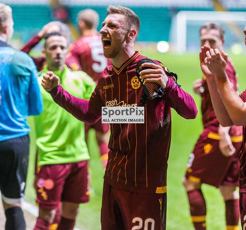 Louis Moult after the match between Celtic and Motherwell (c) ROSS EAGLESHAM | Sportpix.co.uk