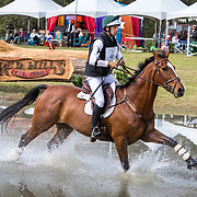William Coleman III (USA) and Cooley Off The Record at the Red Hills International Horse Trials in Tallahassee, Florida.